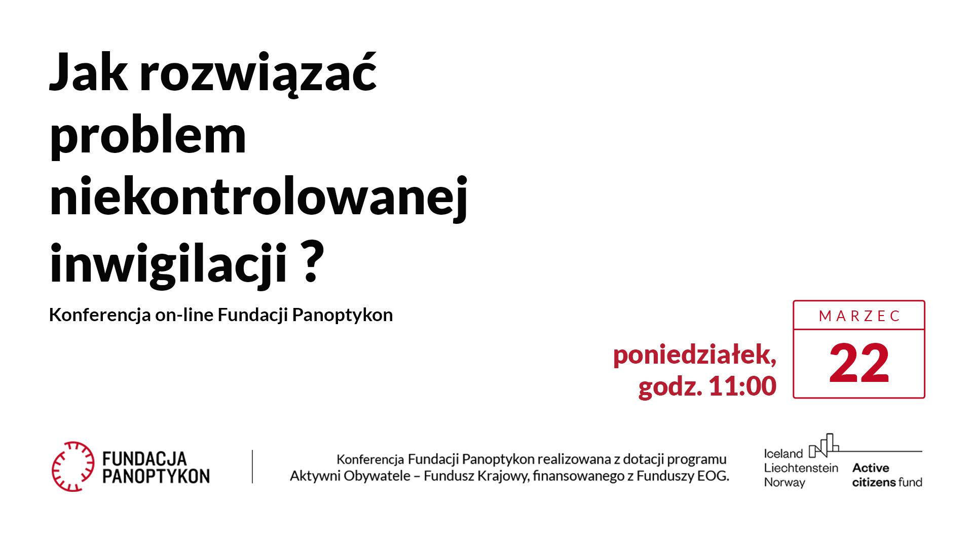 Kampania realizowana z dotacji programu Aktywni Obywatele – Fundusz Krajowy, finansowanego z Funduszy EOG