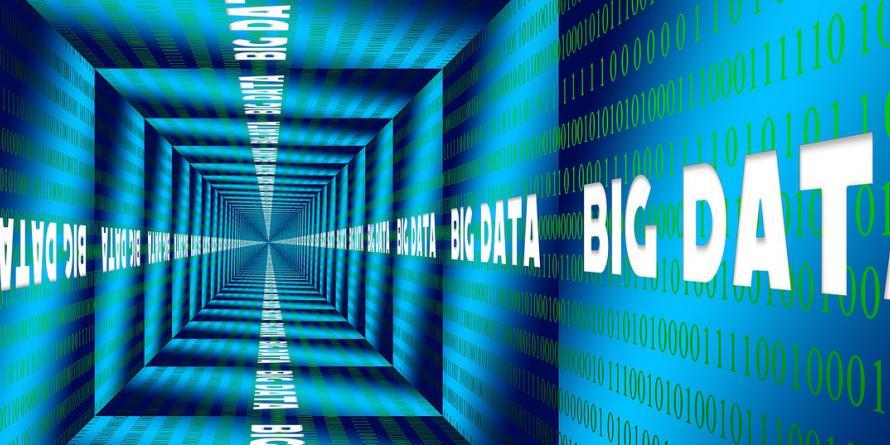 Korytarz Big Data. CC0 Public domain via Pixabay