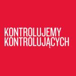 Logo raportu na 5 lat fundacji Panoptykon: kontrolujemy kontrolujących.